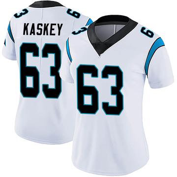 Women's Nike Carolina Panthers Matt Kaskey White Vapor Untouchable Jersey - Limited