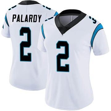 Women's Nike Carolina Panthers Michael Palardy White Vapor Untouchable Jersey - Limited