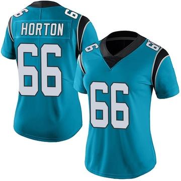 Women's Nike Carolina Panthers Mike Horton Blue Alternate Vapor Untouchable Jersey - Limited