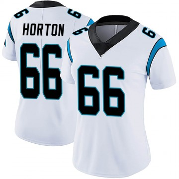 Women's Nike Carolina Panthers Mike Horton White Vapor Untouchable Jersey - Limited