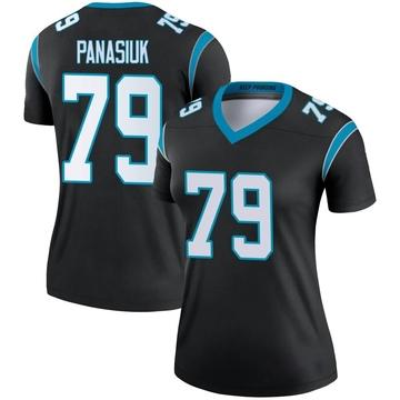 Women's Nike Carolina Panthers Mike Panasiuk Black Jersey - Legend