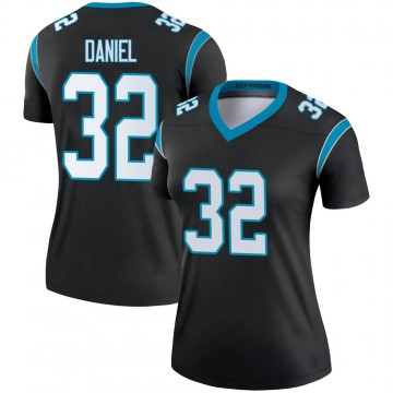 Women's Nike Carolina Panthers Mikey Daniel Black Jersey - Legend
