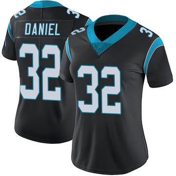 Women's Nike Carolina Panthers Mikey Daniel Black Team Color Vapor Untouchable Jersey - Limited