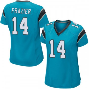 Women's Nike Carolina Panthers Mose Frazier Blue Alternate Jersey - Game