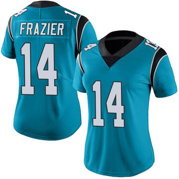 Women's Nike Carolina Panthers Mose Frazier Blue Alternate Vapor Untouchable Jersey - Limited