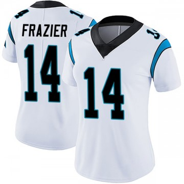 Women's Nike Carolina Panthers Mose Frazier White Vapor Untouchable Jersey - Limited