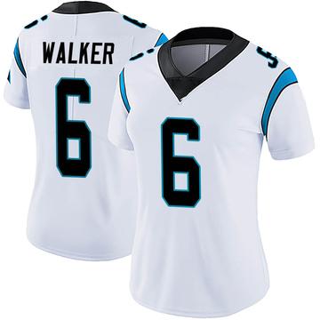 Women's Nike Carolina Panthers P.J. Walker White Vapor Untouchable Jersey - Limited