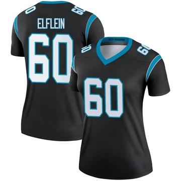 Women's Nike Carolina Panthers Pat Elflein Black Jersey - Legend