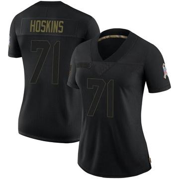 Women's Nike Carolina Panthers Phil Hoskins Black 2020 Salute To Service Jersey - Limited