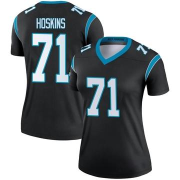 Women's Nike Carolina Panthers Phil Hoskins Black Jersey - Legend