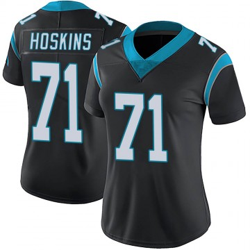 Women's Nike Carolina Panthers Phil Hoskins Black Team Color Vapor Untouchable Jersey - Limited