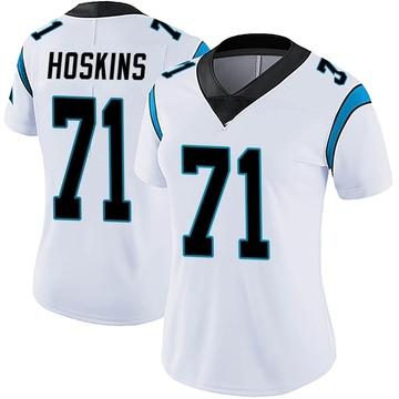 Women's Nike Carolina Panthers Phil Hoskins White Vapor Untouchable Jersey - Limited