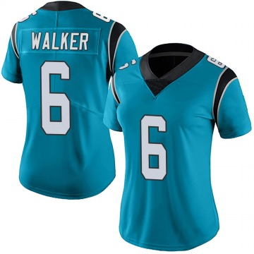 Women's Nike Carolina Panthers Phillip Walker Blue Alternate Vapor Untouchable Jersey - Limited