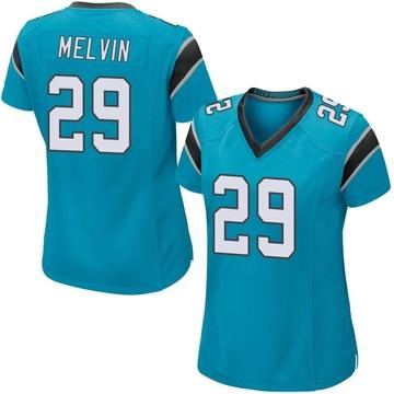 Women's Nike Carolina Panthers Rashaan Melvin Blue Alternate Jersey - Game