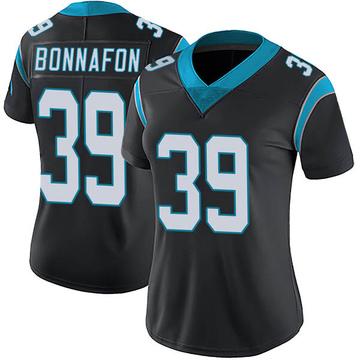 Women's Nike Carolina Panthers Reggie Bonnafon Black Team Color Vapor Untouchable Jersey - Limited