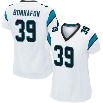 Women's Nike Carolina Panthers Reggie Bonnafon White Jersey - Game