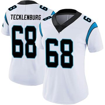 Women's Nike Carolina Panthers Sam Tecklenburg White Vapor Untouchable Jersey - Limited
