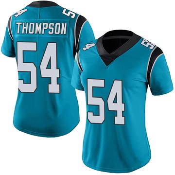 Women's Nike Carolina Panthers Shaq Thompson Blue Alternate Vapor Untouchable Jersey - Limited