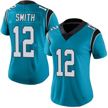 Women's Nike Carolina Panthers Shi Smith Blue Alternate Vapor Untouchable Jersey - Limited