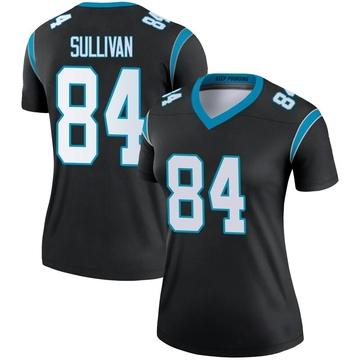 Women's Nike Carolina Panthers Stephen Sullivan Black Jersey - Legend