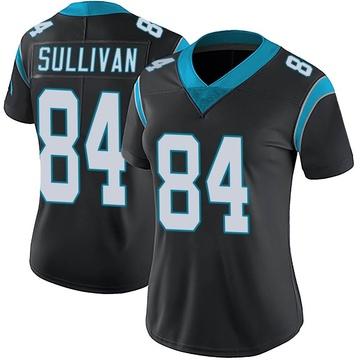 Women's Nike Carolina Panthers Stephen Sullivan Black Team Color Vapor Untouchable Jersey - Limited