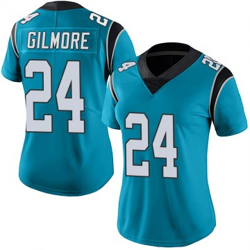 Women's Nike Carolina Panthers Stephon Gilmore Blue Alternate Vapor Untouchable Jersey - Limited