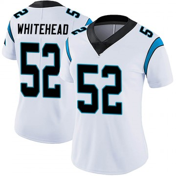 Women's Nike Carolina Panthers Tahir Whitehead White Vapor Untouchable Jersey - Limited