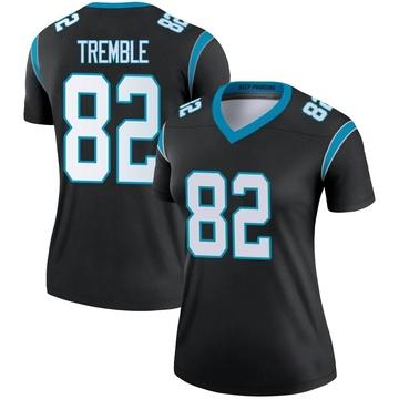Women's Nike Carolina Panthers Tommy Tremble Black Jersey - Legend