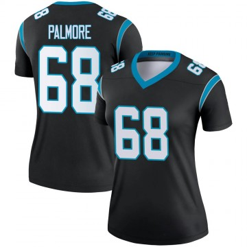 Women's Nike Carolina Panthers Walter Palmore Black Jersey - Legend