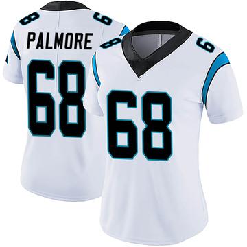 Women's Nike Carolina Panthers Walter Palmore White Vapor Untouchable Jersey - Limited