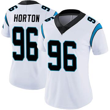 Women's Nike Carolina Panthers Wes Horton White Vapor Untouchable Jersey - Limited
