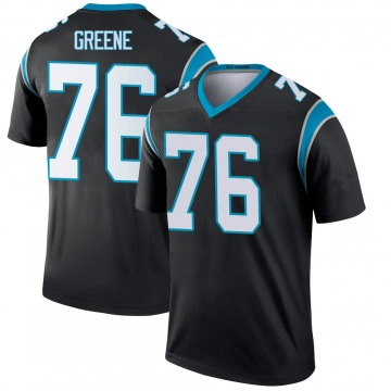 Youth Nike Carolina Panthers Brandon Greene Green Black Jersey - Legend