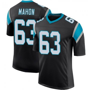 Youth Nike Carolina Panthers Brendan Mahon Black Team Color 100th Vapor Untouchable Jersey - Limited