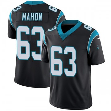 Youth Nike Carolina Panthers Brendan Mahon Black Team Color Vapor Untouchable Jersey - Limited