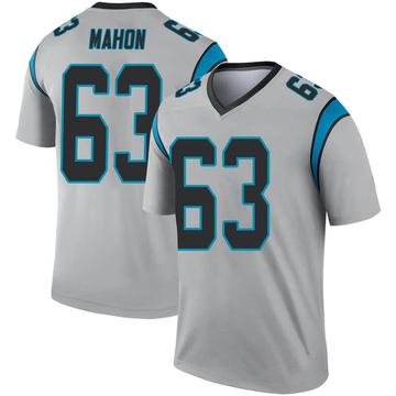 Youth Nike Carolina Panthers Brendan Mahon Inverted Silver Jersey - Legend