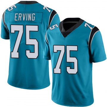 Youth Nike Carolina Panthers Cameron Erving Blue Alternate Vapor Untouchable Jersey - Limited