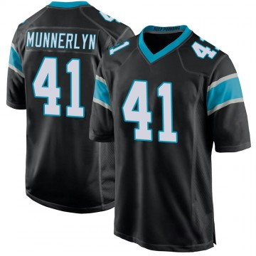 Youth Nike Carolina Panthers Captain Munnerlyn Black Team Color Jersey - Game