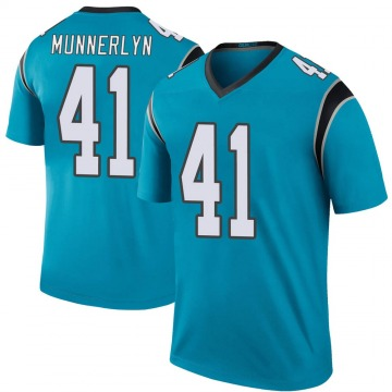 Youth Nike Carolina Panthers Captain Munnerlyn Blue Color Rush Jersey - Legend