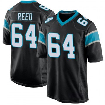 Youth Nike Carolina Panthers Chris Reed Black Team Color Jersey - Game