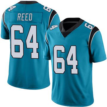 Youth Nike Carolina Panthers Chris Reed Blue Alternate Vapor Untouchable Jersey - Limited
