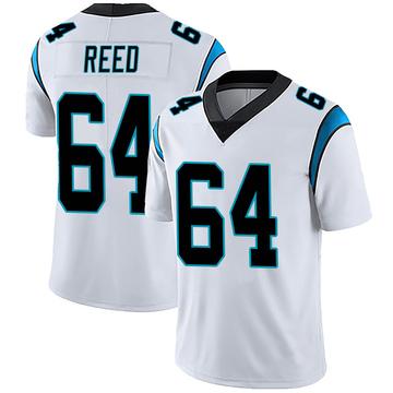 Youth Nike Carolina Panthers Chris Reed White Vapor Untouchable Jersey - Limited