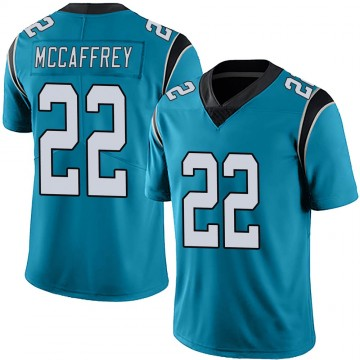 Youth Nike Carolina Panthers Christian McCaffrey Blue Alternate Vapor Untouchable Jersey - Limited