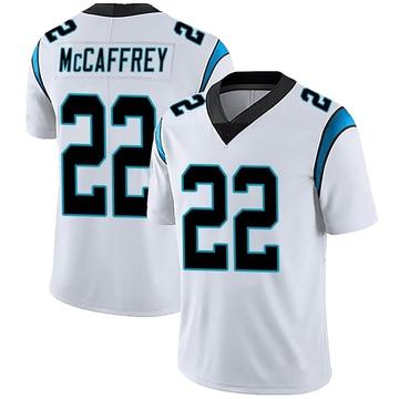 Youth Nike Carolina Panthers Christian McCaffrey White Vapor Untouchable Jersey - Limited