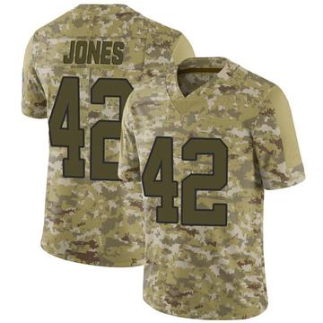 Youth Nike Carolina Panthers Colin Jones Camo 2018 Salute to Service Jersey - Limited