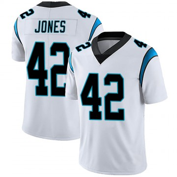 Youth Nike Carolina Panthers Colin Jones White Vapor Untouchable Jersey - Limited