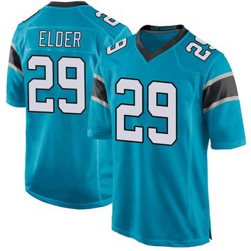 Youth Nike Carolina Panthers Corn Elder Blue Alternate Jersey - Game