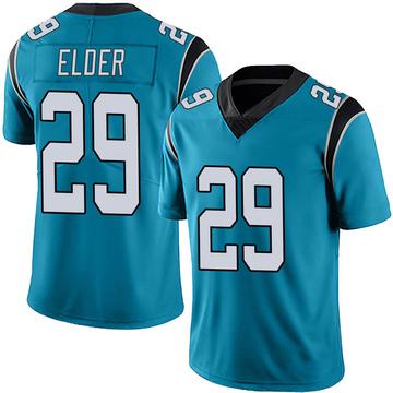Youth Nike Carolina Panthers Corn Elder Blue Alternate Vapor Untouchable Jersey - Limited