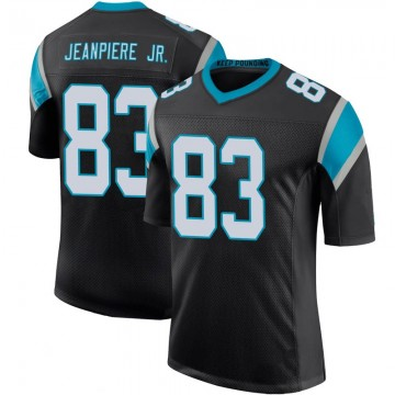 Youth Nike Carolina Panthers Damion Jeanpiere Jr. Black Team Color 100th Vapor Untouchable Jersey - Limited