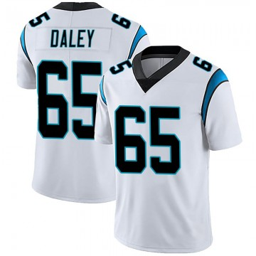 Youth Nike Carolina Panthers Dennis Daley White Vapor Untouchable Jersey - Limited