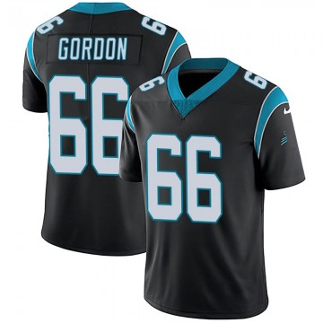 Youth Nike Carolina Panthers Dillon Gordon Black Team Color Vapor Untouchable Jersey - Limited